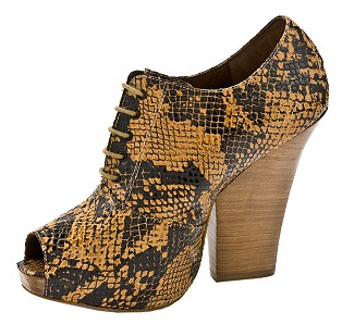 Penny Loves Kenny Zen Reptile Peep Toe Oxford, $49.94