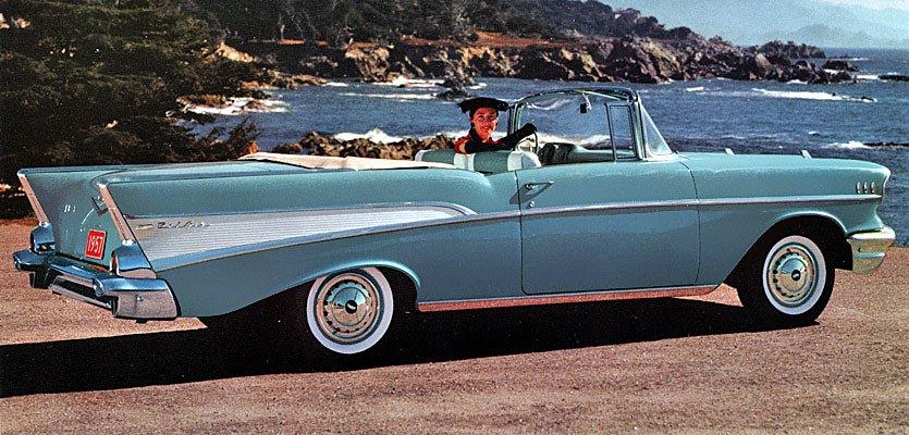 1957 Chevrolet Bel Air C A P S Love