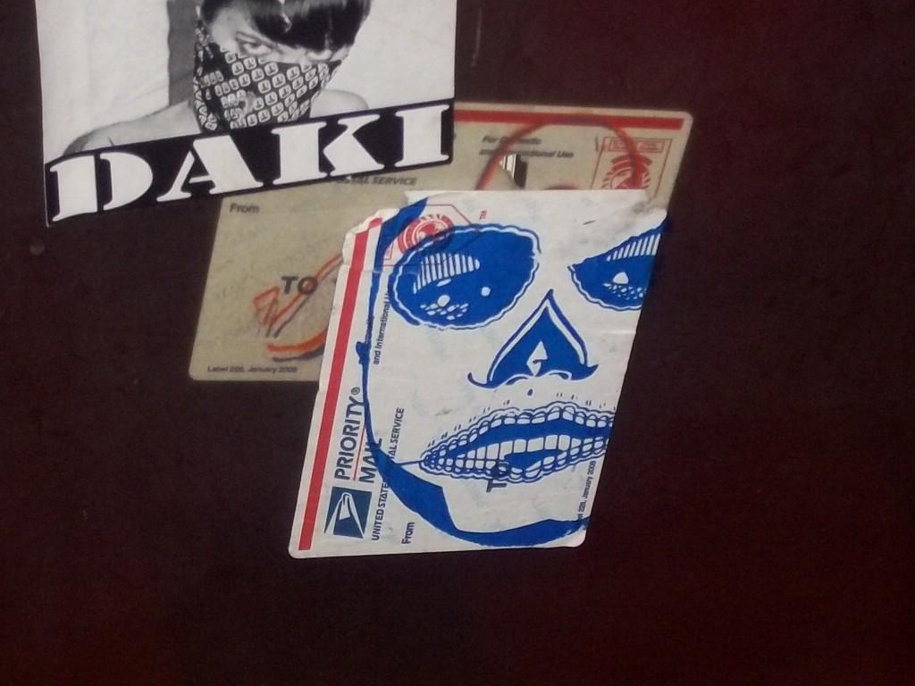 Street Art Mexican Skulls